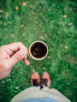 Zelfstandige koffie
